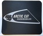 Vintage Arctic Cat Snowmobiles Full Color Mouse Pad