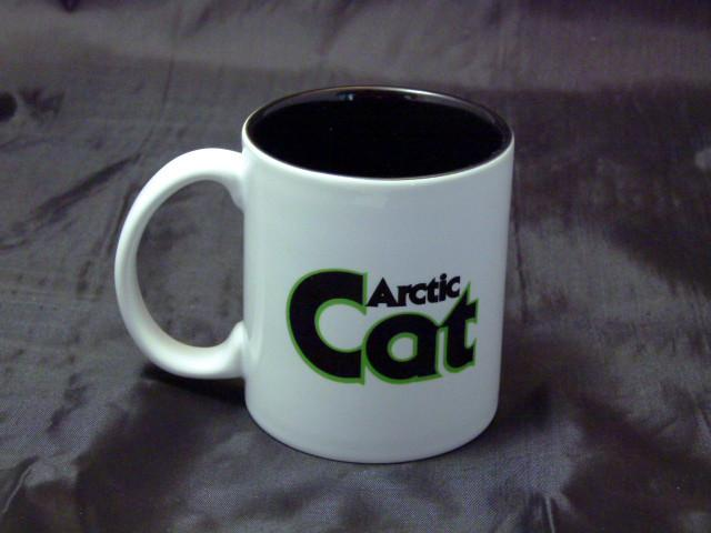 Arctic Cat Green Logo Ceramic Coffee Mug