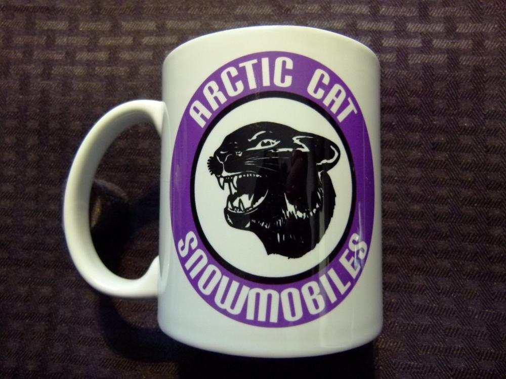 Arctic Cat Purple Logo Ceramic Coffee Mug