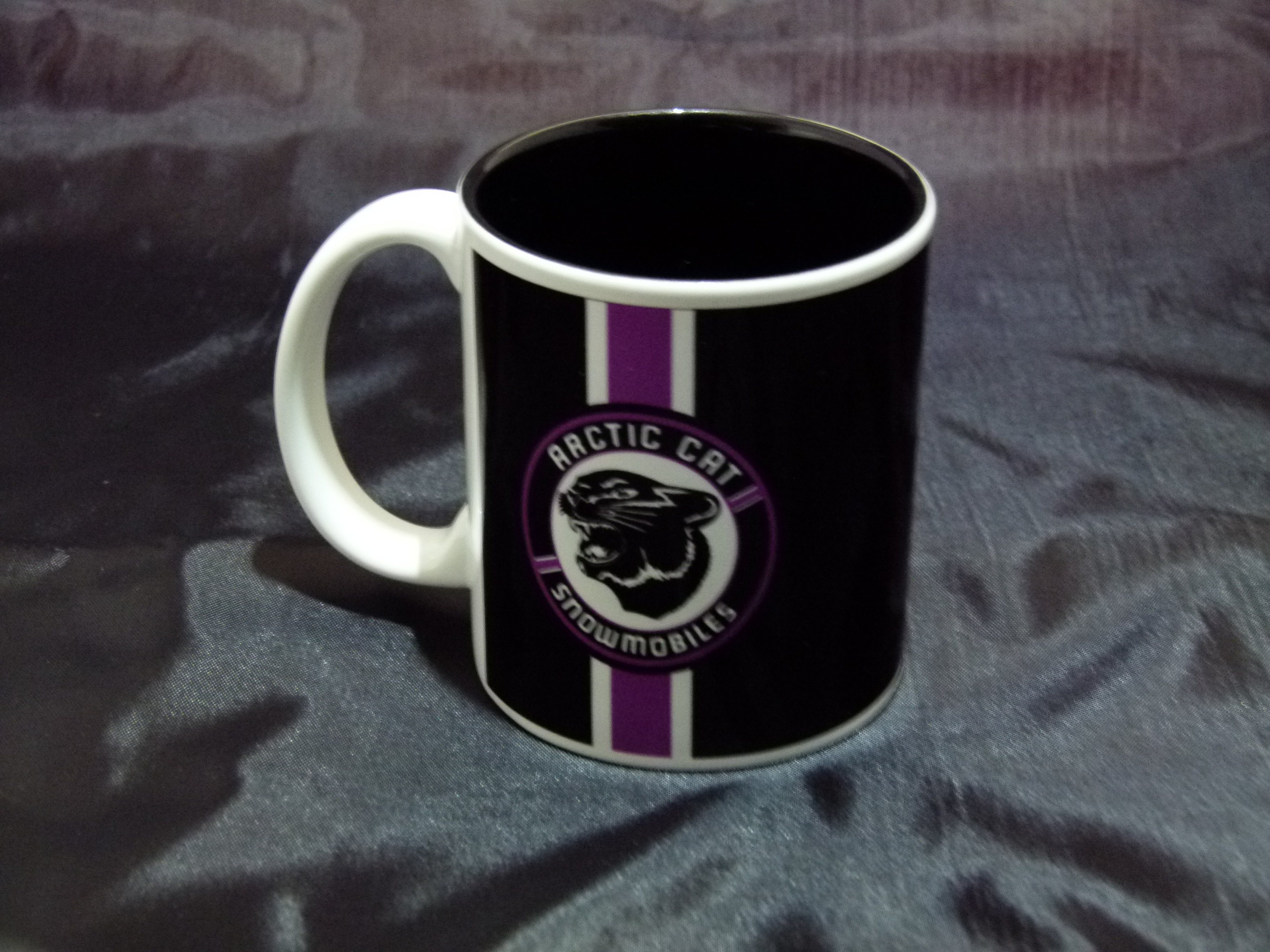 Arctic Cat Purple Patch Logo Ceramic Coffee Mug
