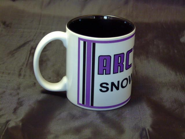 Arctic Cat Purple Sign Logo Ceramic Coffee Mug