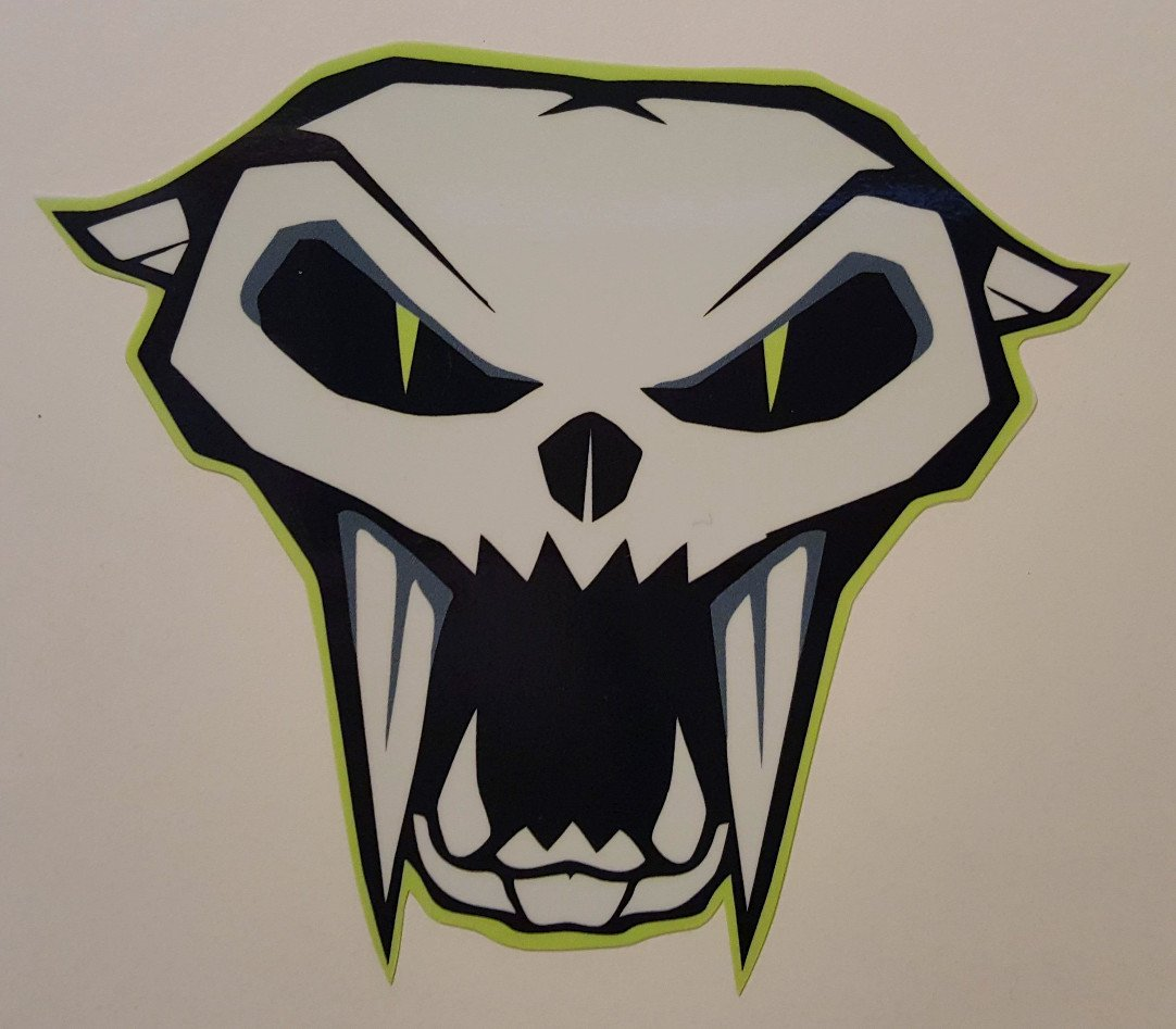 Arctic Cat Skull Decal