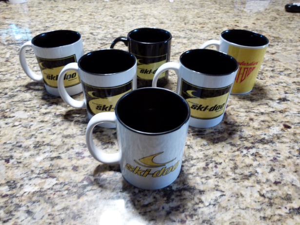 Clearance Less-Than-Perfect Ski-Doo Mug Collection