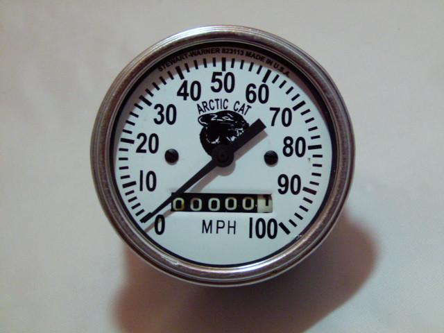 Custom Arctic Cat Refurbished Speedometer Gauge