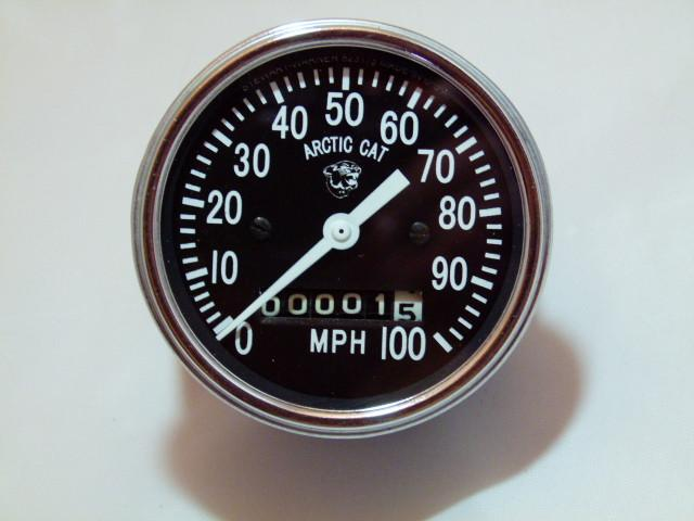 1970-1971 Arctic Cat Refurbished Speedometer Gauge