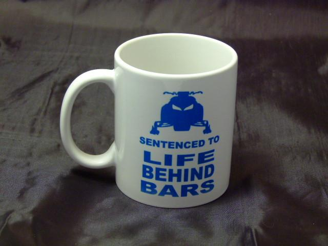 Life Behind Bars Logo Ceramic Coffee Mug
