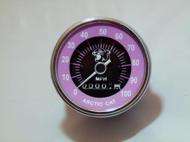 1972 Arctic Cat EXT/Panther/Puma/Cheetah Refurbished Speedometer Gauge