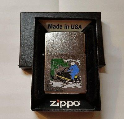New 60's Arctic Cat Snowmobile Novelty Zippo Lighter