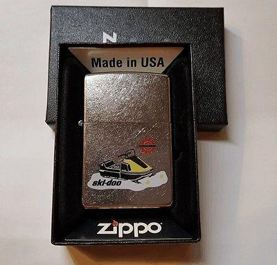 New Ski Doo TNT Snowmobile Novelty Zippo Lighter