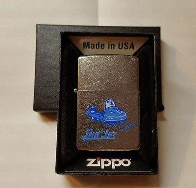 New Sno Jet Snowmobile Novelty Zippo Lighter