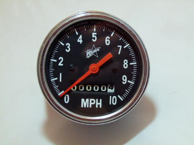 1972 Polaris Refurbished Speedometer Gauge