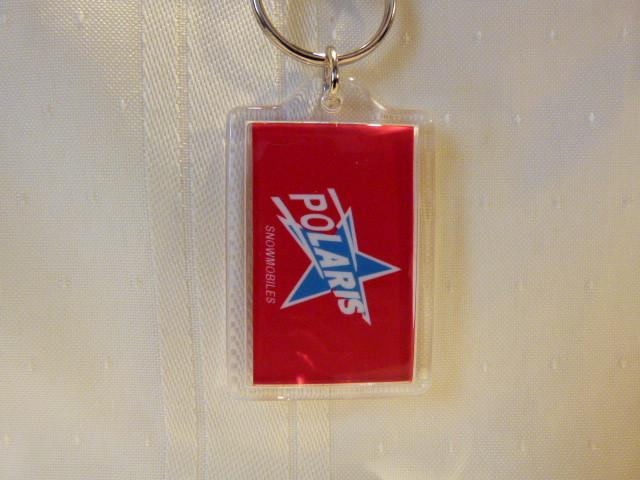 Polaris Blue Star Keychain-Acrylic
