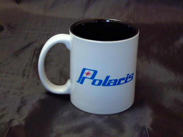 Polaris Blue Words Ceramic Coffee Mug