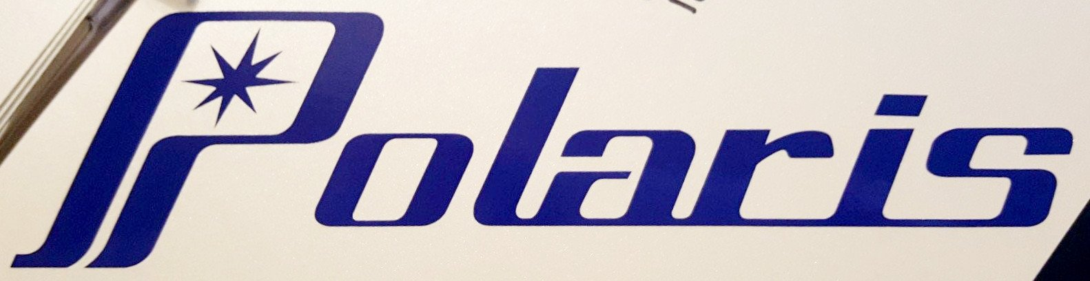 Polaris Cut Vinyl Logo Decal