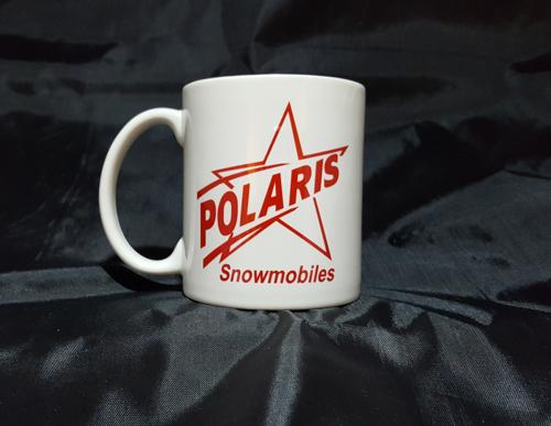 Polaris Red Star Logo Ceramic Coffee Mug