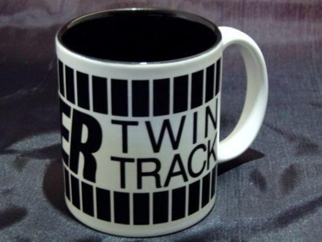 Raider Twin Track Ceramic Coffee Mug