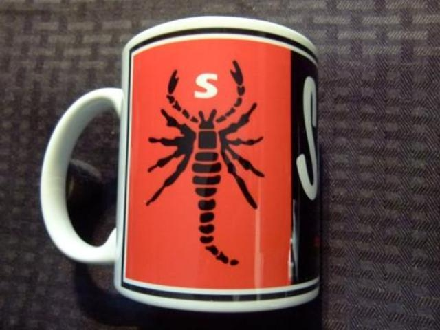 Scorpion Logo Ceramic Coffee Mug