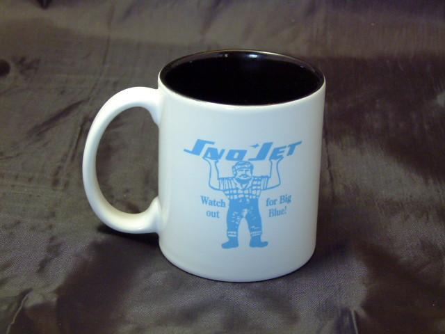 Sno-Jet Big Blue Ceramic Coffee Mug