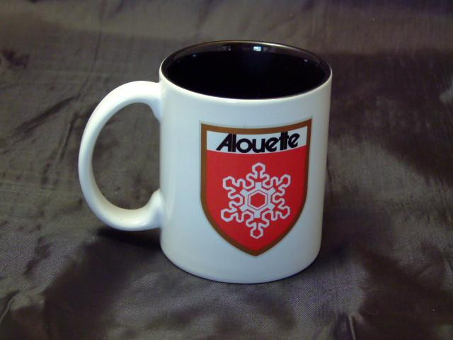 Alouette Logo Ceramic Coffee Mug