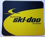 Vintage Ski-Doo Snowmobiles Full Color Mouse Pad