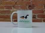 Johnson Logo Ceramic Coffee Mug
