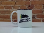 John Deere Snowmobile Logo Ceramic Coffee Mug