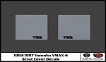 1993-1997 VMAX-4 Snowmobile Strut Cover Decal Set