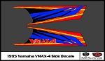 1995 VMAX-4 Snowmobile Side Decals