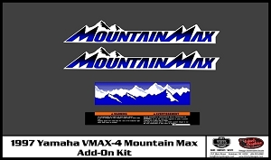 1997 VMAX-4 Mountain Max Add-On Decal Kit