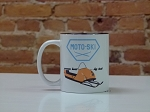 MotoSki Ceramic Coffee Mug