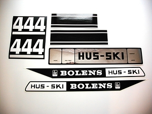 66 Bolens Hus Ski 444 Decal Kit