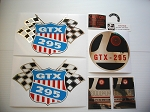 69 RUPP GTX 295 Decal Kit