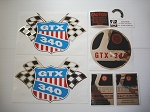69 RUPP GTX 340 Decal Kit
