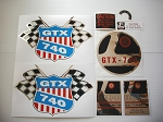 69 RUPP GTX 740 Decal Kit