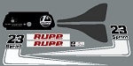 71 RUPP Sprint 23 Decal Kit