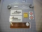 1971 Ariens Arrow 300S Decal Kit
