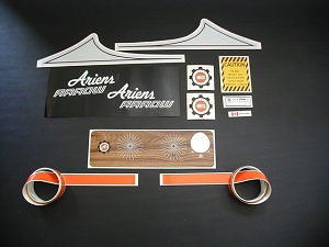 71 Ariens Arrow 400 SS Decal Kit
