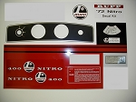 72 RUPP Nitro 400 Decal Kit
