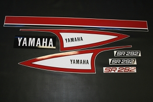 73 YAMAHA SR 292 Decal Kit