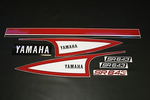 73 YAMAHA SR 643 Decal Kit