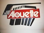 73 Alouette Super 440 Decal Kit