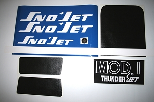 73 SNO*JET Thunderjet MOD I Decal Kit