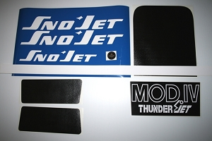 73 SNO*JET Thunderjet MOD IV Decal Kit