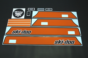 74 Ski Doo Elite Decal Kit
