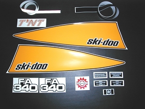 73/4 Ski Doo TNT F/A 340 Decal Kit