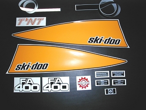 73/4 Ski Doo TNT F/A 400 Decal Kit