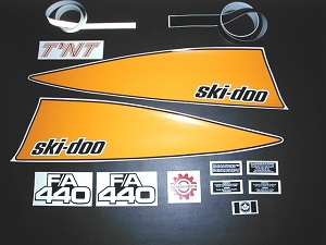 74 Ski Doo TNT F/A 440 Decal Kit