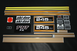 75 Ski Doo RV 245 Decal Kit