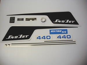 75 SNO*JET Astro SS 440 Decal Kit