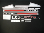 75 RUPP Nitro F/C 340 Decal Kit